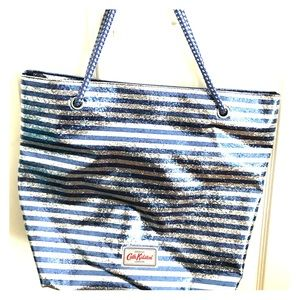 Cate Kidston Sparkling silver and blue Tote bag
